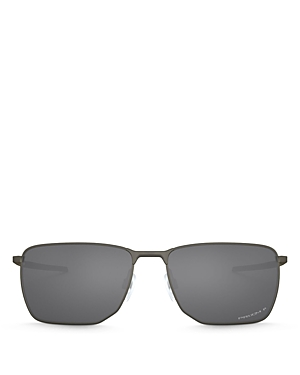 Oakley Men\\\'s Ejector Polarized Rectangular Sunglasses, 58mm-Jewelry & Accessories