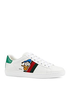 Gucci - x Disney Women's New Ace Donald Duck Sneakers