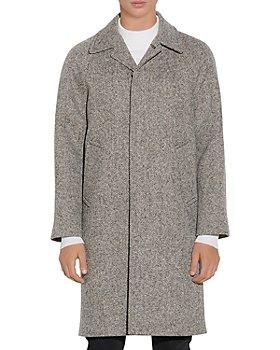 Sandro - Caviar Wool Blend Coat