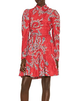 Sandro - Tali Jacquard Dress