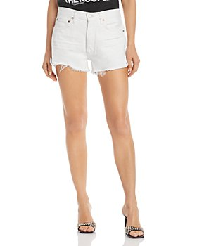 AGOLDE - Parker Denim Shorts in Tissue