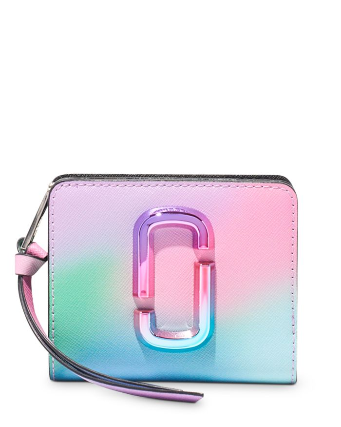MARC JACOBS MARC JACOBS Mini Compact Leather Wallet  | Bloomingdale's