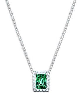 "Swarovski - Angelic Crystal Pendant Necklace, 14.75"""