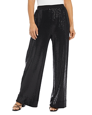 Karen Kane Sequin Wide Leg Pants