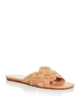 SCHUTZ - Women's Betisa Studded Slide Sandals