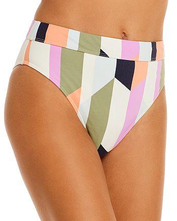 Billabong - Slow Roller Striped Bikini Bottom