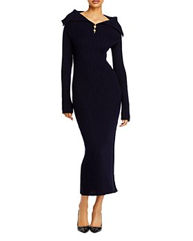 Lanvin - Wool Midi Sweater Dress