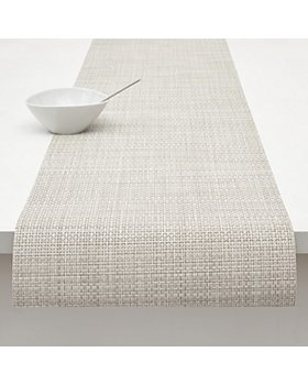 "Chilewich - Basketweave Table Runner, 72"" x 14"""