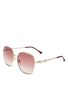 Gucci - Women's Hexagonal Sunglasses, 60mm