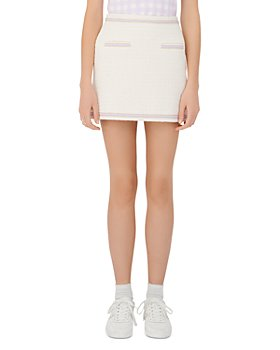 Maje - Janessa Tweed Mini Skirt
