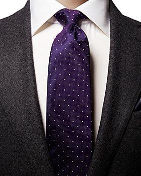 Eton - Polka Dot Silk Classic Tie