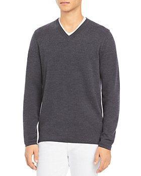 Theory - Arnaud Erhart Wool V Neck Sweater