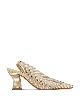 Bottega Veneta - Women's d'Orsay Pointed Slingback Pumps