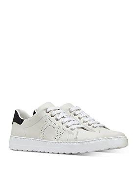 Salvatore Ferragamo - Women's Pierre Lace Up Sneakers