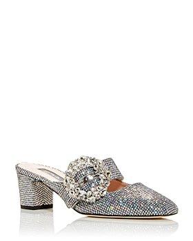 SJP by Sarah Jessica Parker - Women's Tartine Embellished Block Heel Mules