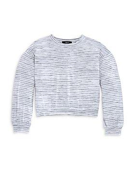 AQUA - Girls' Stripe Dolman Sleeve Top, Big Kid - 100% Exclusive