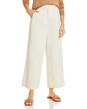 Weekend Max Mara - Wide Leg Cotton Ankle Trousers