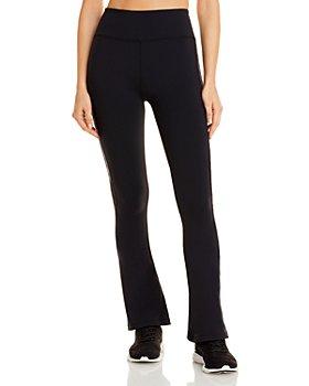 Splits59 - Raquel Animal Print Side Stripe Pants