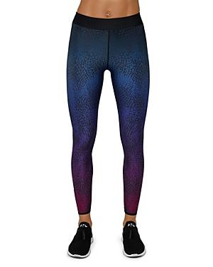 Scattered Dot Printed Leggings