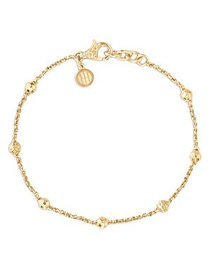 John Hardy 18K Yellow Gold Classic Chain Bead and Chain Bracelet