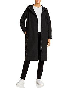 Eileen Fisher - Lightweight Hooded Coat