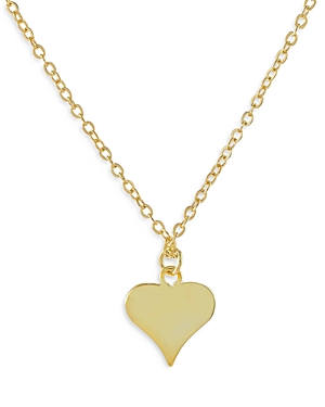 Adinas Jewels MINI HEART PENDANT NECKLACE, 15