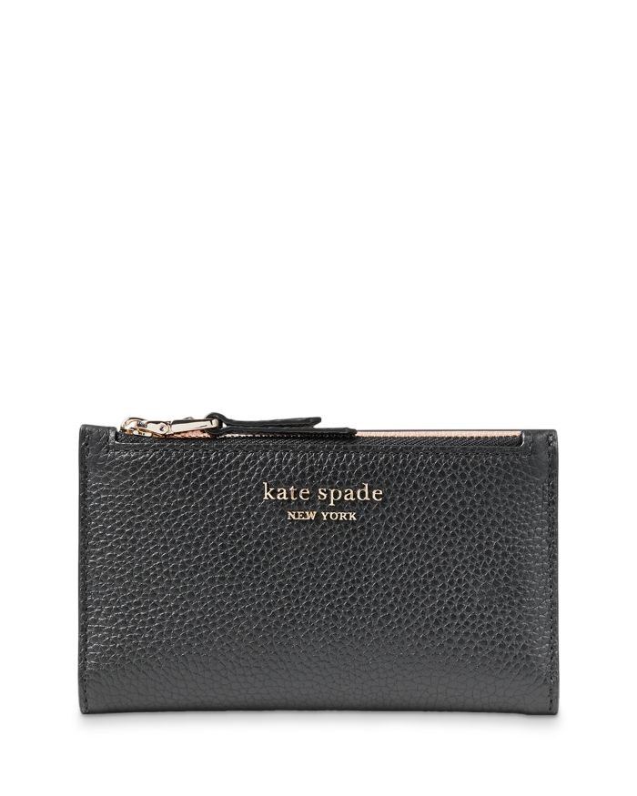 Kate spade new york Spencer Small Leather Bifold Wallet  | Bloomingdale's