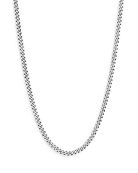 """JOHN HARDY - Sterling Silver Classic Curb Chain Necklace, 22"""""""