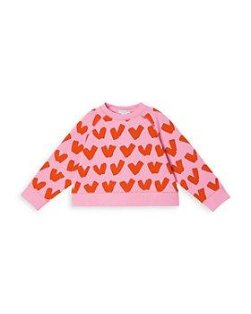 Stella McCartney - Girls' Hearts Sweatshirt - Little Kid, Big Kid