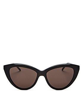 Saint Laurent - Women's Cat Eye Sunglasses, 55mm