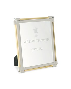 """William Yeoward Crystal - Classic Raw Silk 8"""" x 10"""" Picture Frame"""