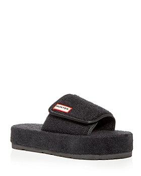 Hunter - Women's Beach Slide Sandals
