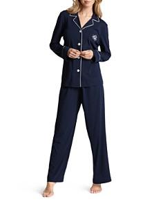 Lauren Ralph Lauren Hammond Knits Classic Pajama Set - Bloomingdale's_0