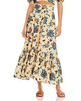 A.L.C. - Lucie Floral Maxi Skirt