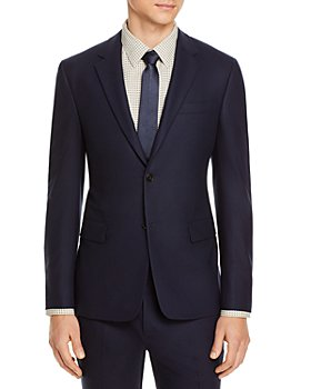 Theory - Bowery Stretch Flannel Extra Slim Fit Suit Jacket
