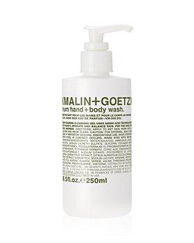 MALIN and GOETZ - Rum Hand + Body Wash 8.5 oz.