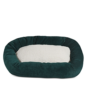 Majestic Pet Villa Sherpa Bagel Dog Bed, Large