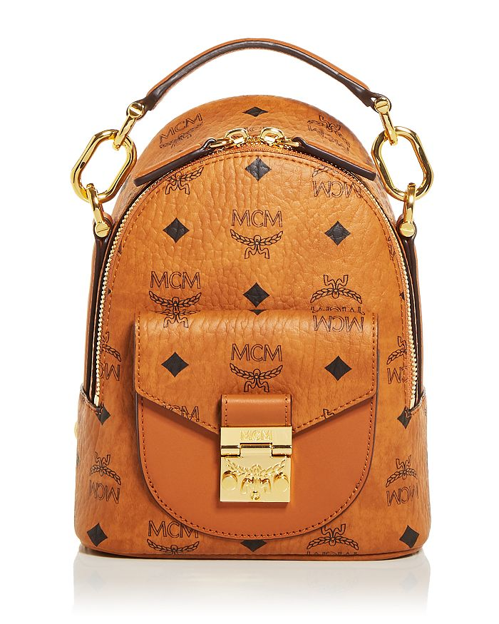 MCM - Patricia Visetos Mini Backpack