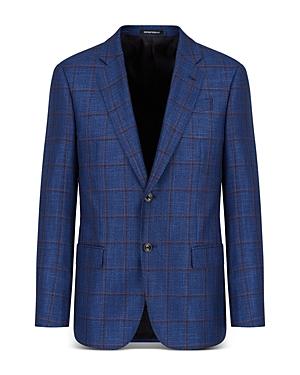 Windowpane Suit Jacket