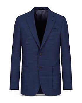 Armani - Textured Travel Suit Jacket