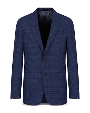 Textured Travel Suit Jacket