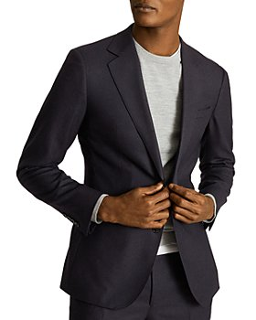 REISS - Player Single Breasted Flannel Twill Regular Fit Sport Coat