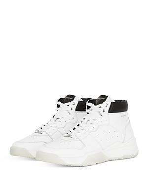 The Kooples Men's Leather High-Top Sneakers