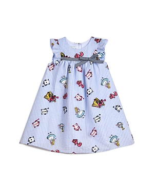 Pippa & Julie GIRLS' ALICE EMBROIDERED FLOAT DRESS - LITTLE KID