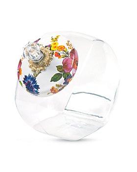Mackenzie-Childs - Cookie Jar with Flower Market Lid
