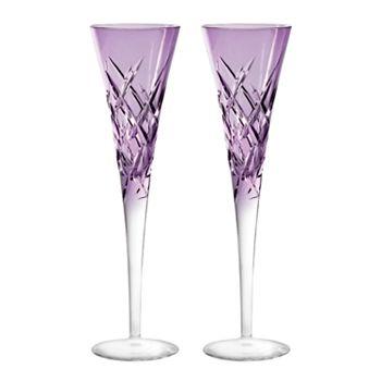 Wedgwood - Duchesse Encore Color Champagne Flute, Pair