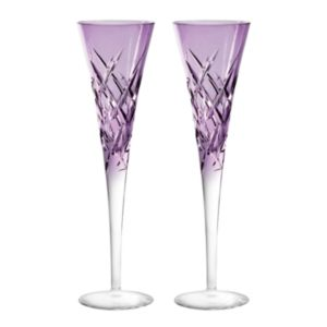 Vera Wang Wedgwood Duchesse Encore Color Champagne Flute, Pair