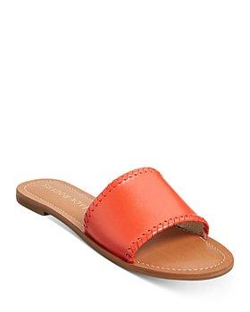 Jack Rogers - Women's Sofia Leather Slide Sandals