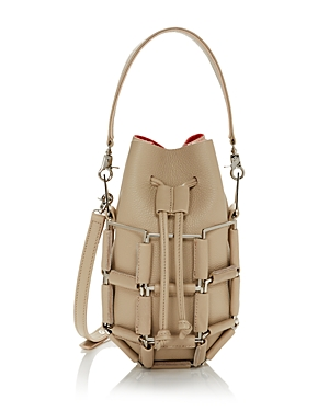 Grenade Small Leather Bucket Bag