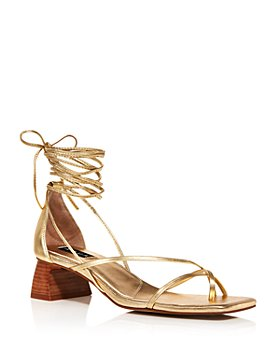 AQUA - Women's Zizi Strappy Sandals - 100% Exclusive